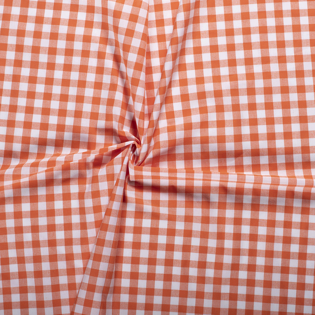 Cotton others fabric Orange