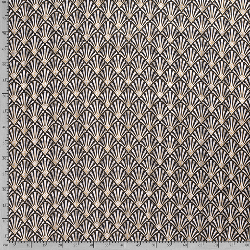 Panama fabric Beige digital printed