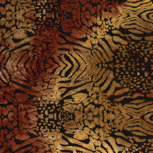 Jersey fabric Abstract Brique