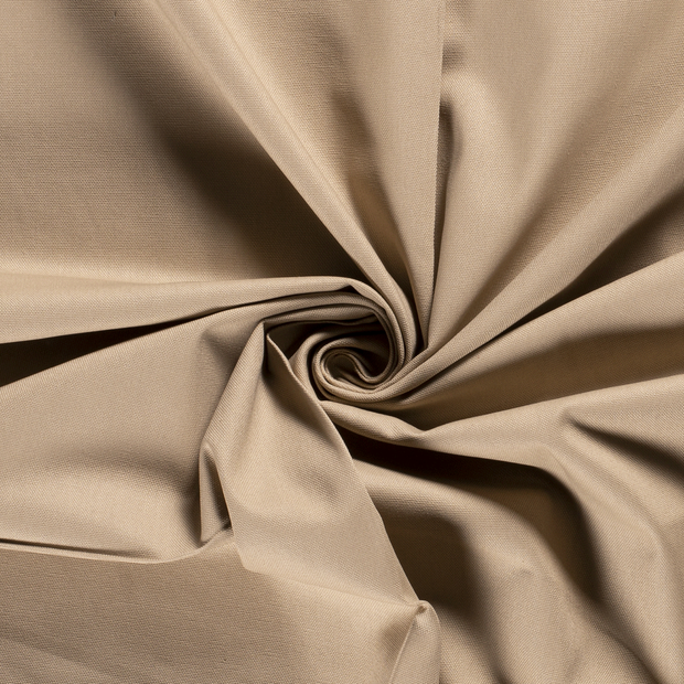 Canvas fabric Unicolour Beige