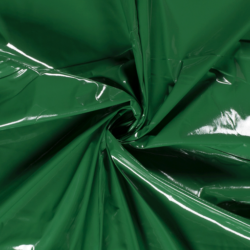 Lacquer fabric Unicolour Green