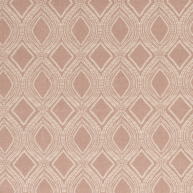 Linen Look fabric Dark Pink