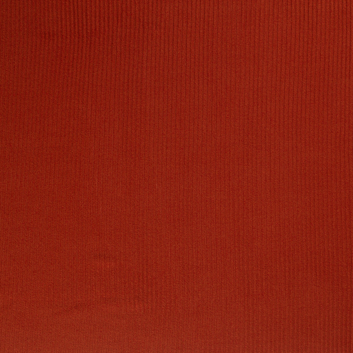 Knitted fabric fabric Brique matte