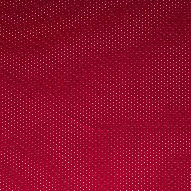 Jersey fabric Red soft
