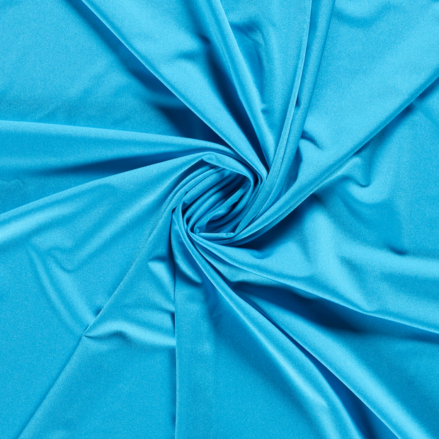 Jersey fabric Unicolour Aqua