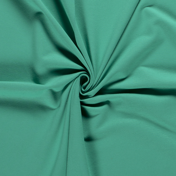 French Terry fabric Unicolour Green