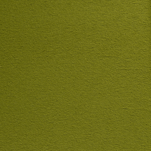 Boiled wool fabric Lime Green matte