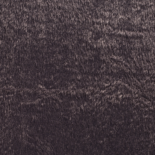 Faux fur fabric Dark Grey smooth