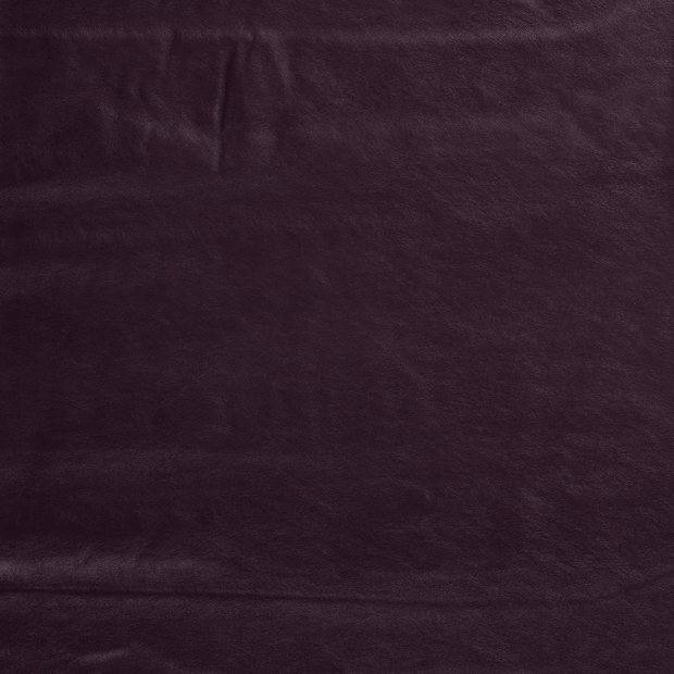 Imitation leather fabric Wine red silk matte