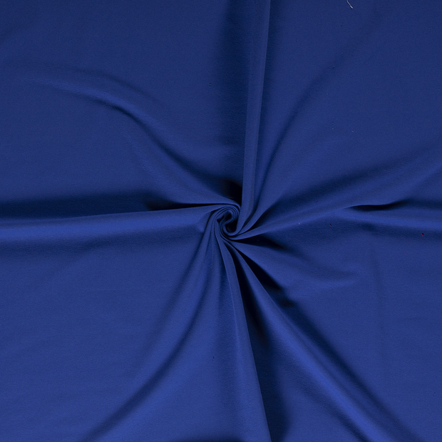 French Terry fabric Cobalt