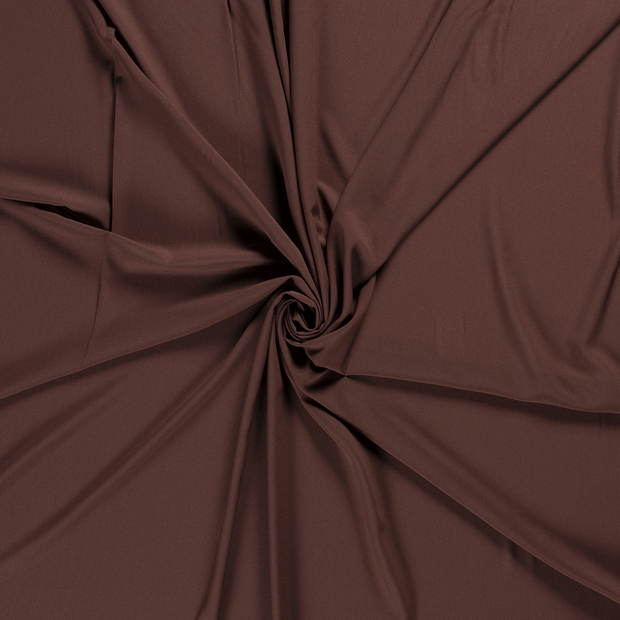 Georgette fabric Brown