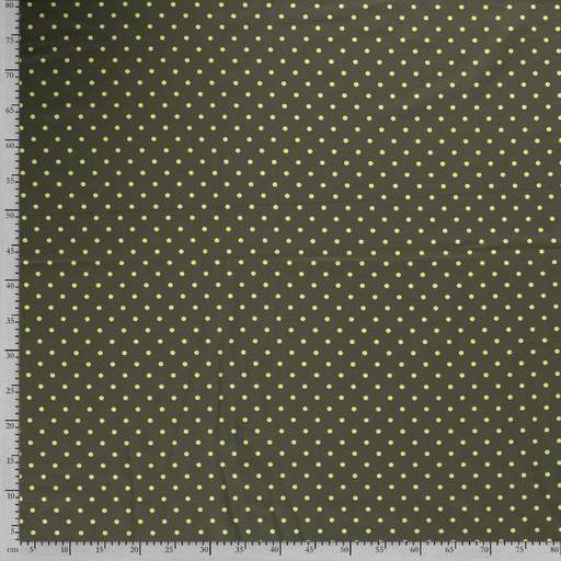Tricot fabric Dots printed
