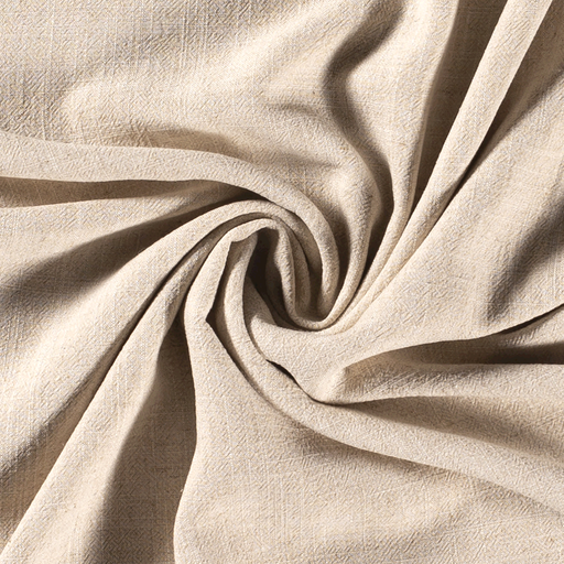 Linen Look fabric Unicolour Off White