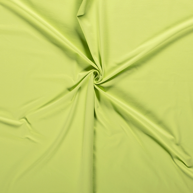 Tricot fabric Lime Green