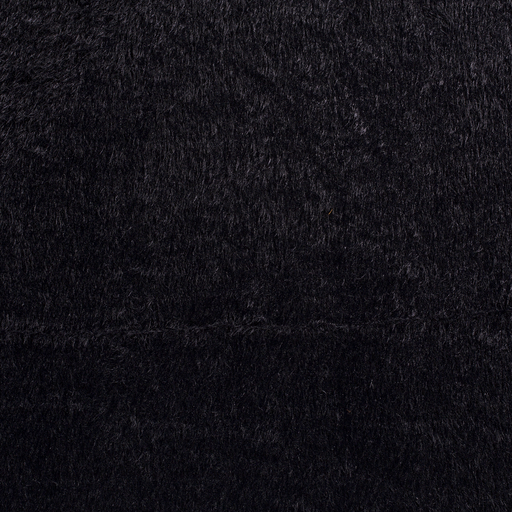 Faux fur fabric Navy smooth