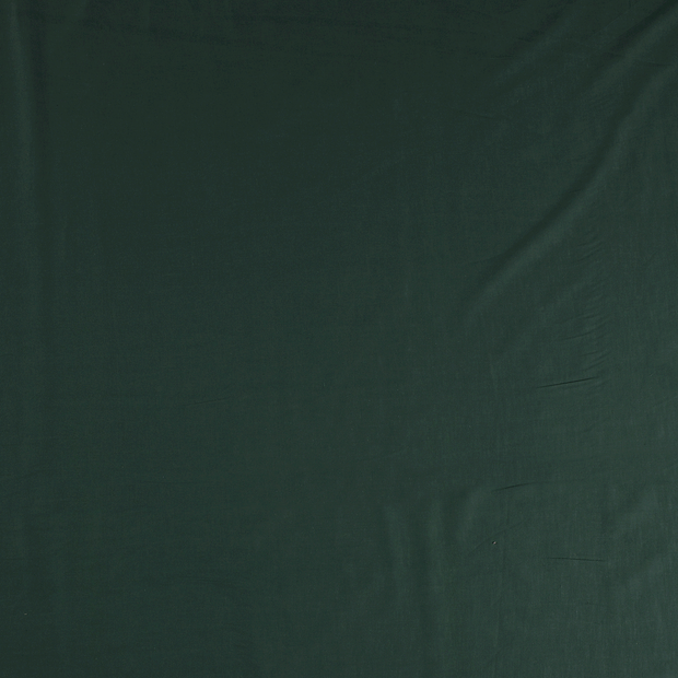 Voile fabric Dark Green soft