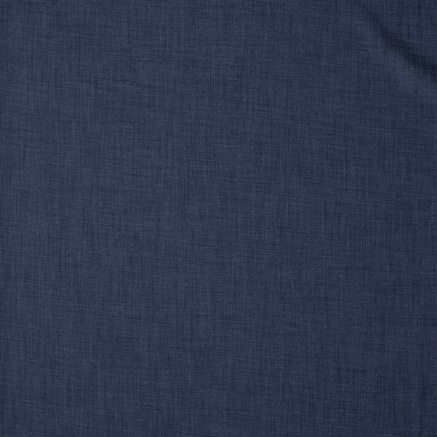 Panama fabric Unicolour Steel Blue