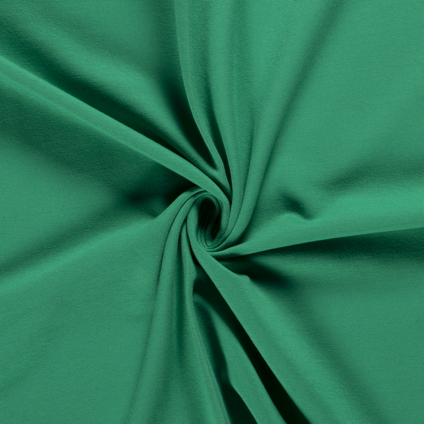 French Terry fabric Unicolour Forest Green