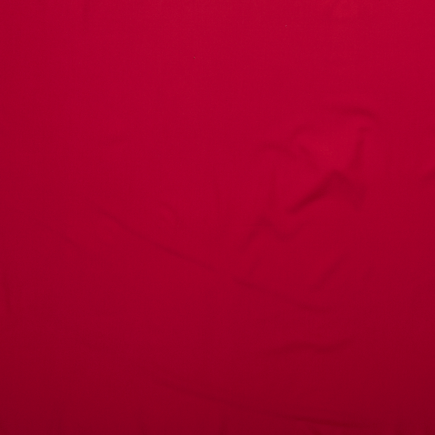 Crepe Fabric fabric Red matte