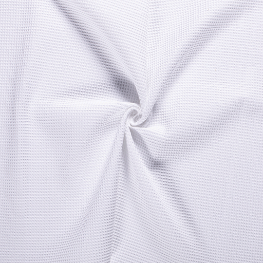 Towelling fabric Optical White