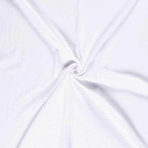 Muslin fabric Optical White