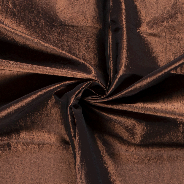 Taffeta fabric Unicolour Bronze