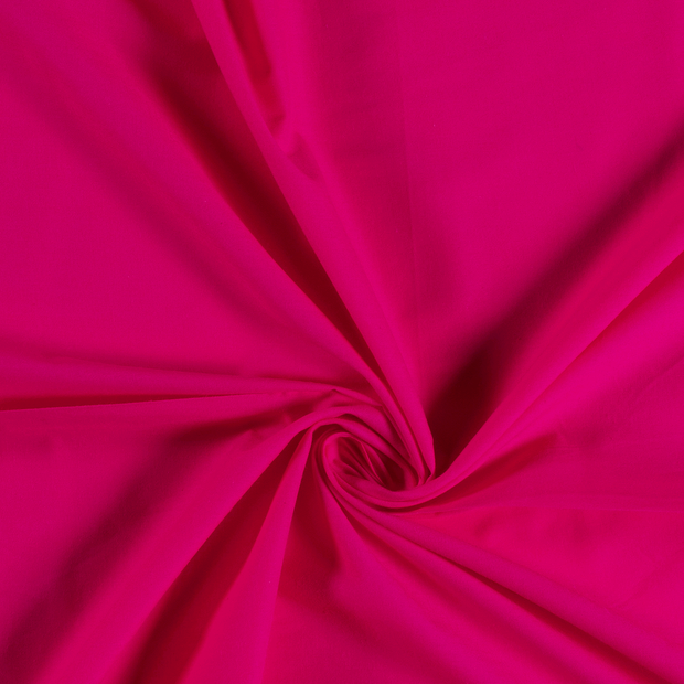 Voile fabric Unicolour Fuchsia