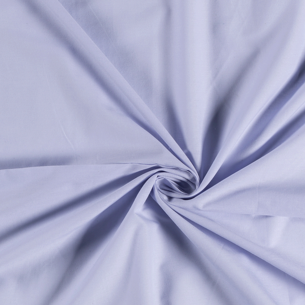 Voile fabric Unicolour Lavender