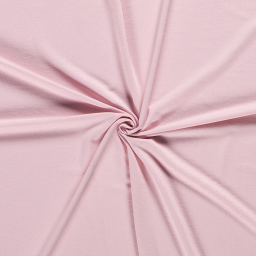 Jersey fabric Unicolour Light Pink