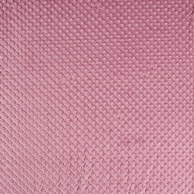Minky fabric Dark Pink soft