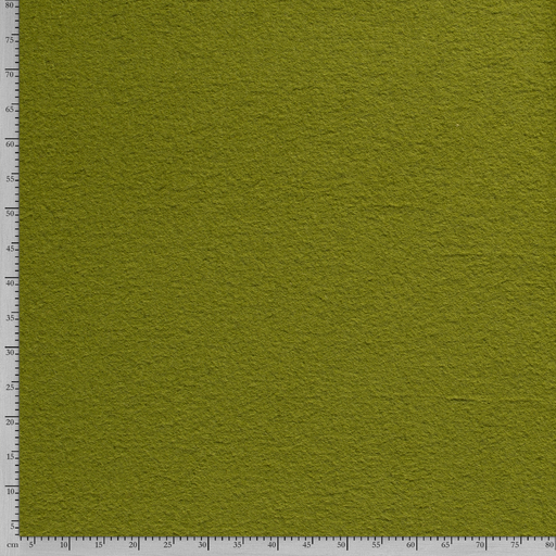 Boiled wool fabric Unicolour Lime Green