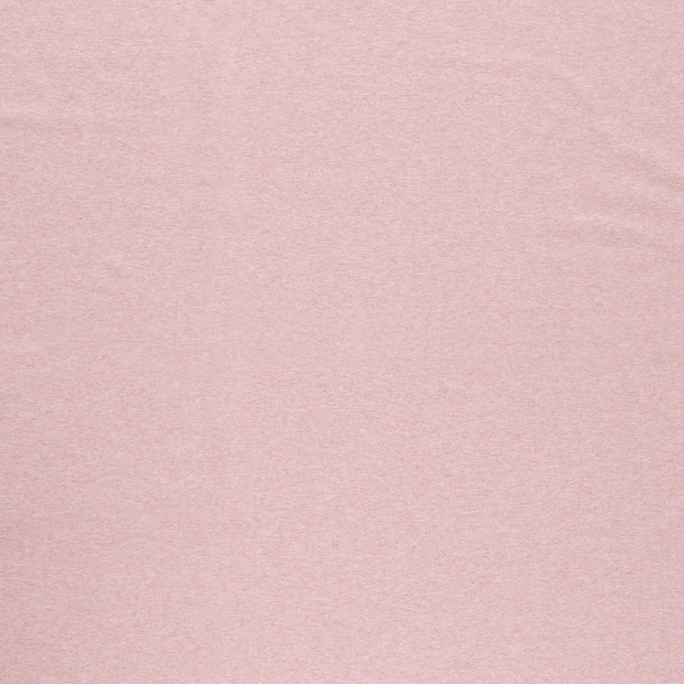 French Terry fabric Light Pink matte
