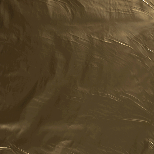 Lacquer fabric Gold shiny