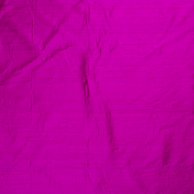 Silk Dupion fabric Fuchsia slightly shiny