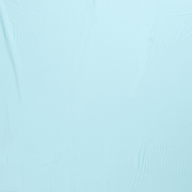 Georgette fabric Aqua semi-transparent