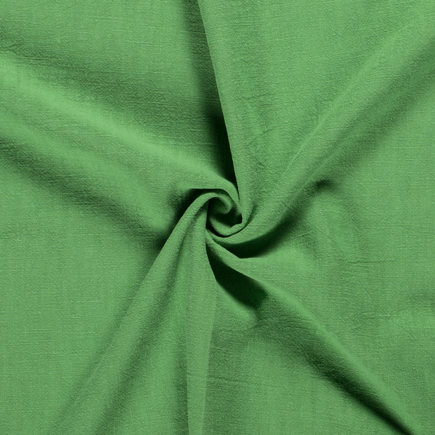 Ramie Linen fabric Unicolour Green