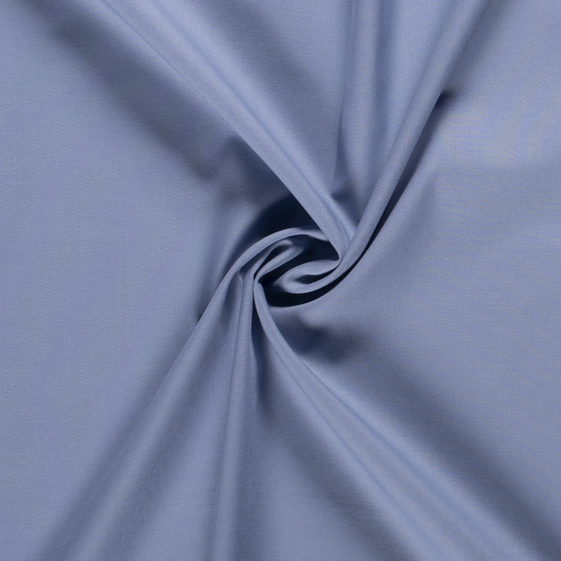Cretonne fabric Unicolour Steel Blue