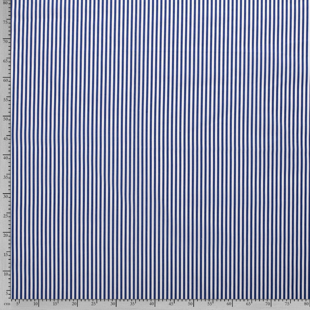 Poplin fabric Stripes printed