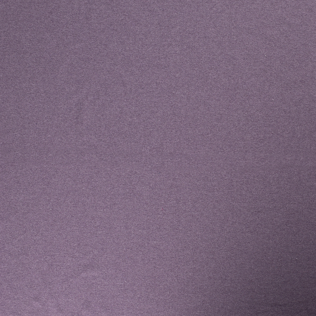 French Terry fabric Purple matte