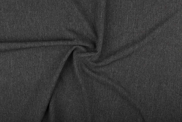 Polyester Mix fabric Unicolour Dark Grey
