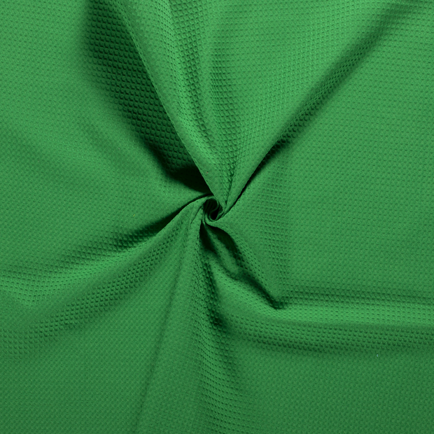 Towelling fabric Green