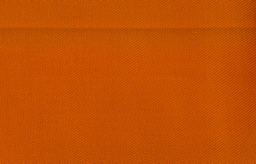 Satin fabric Unicolour Orange