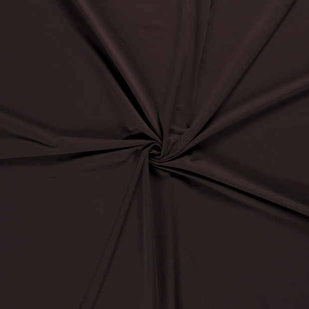 French Terry fabric Dark Brown