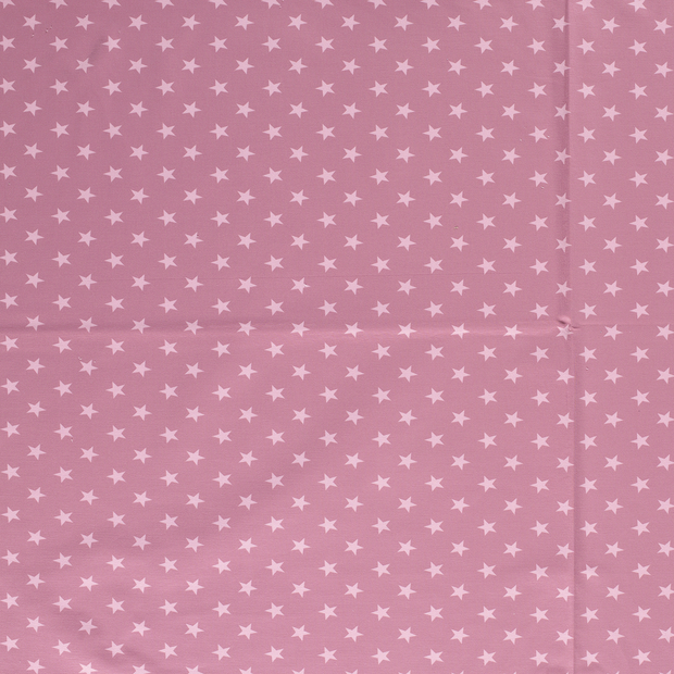 French Terry fabric Old Pink matte