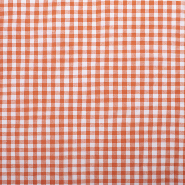 Cotton others fabric Orange matte