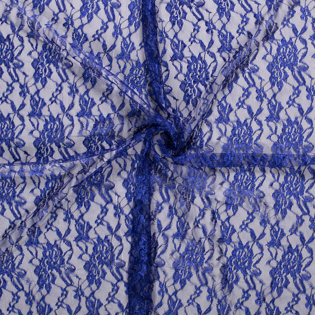 Lace fabric Cobalt