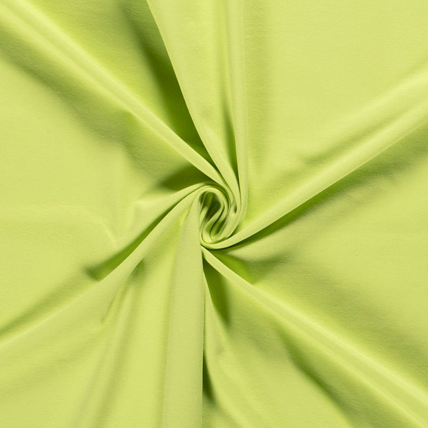 Tricot fabric Unicolour Lime Green