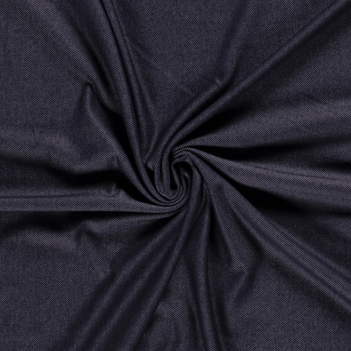 Denim fabric Unicolour Navy