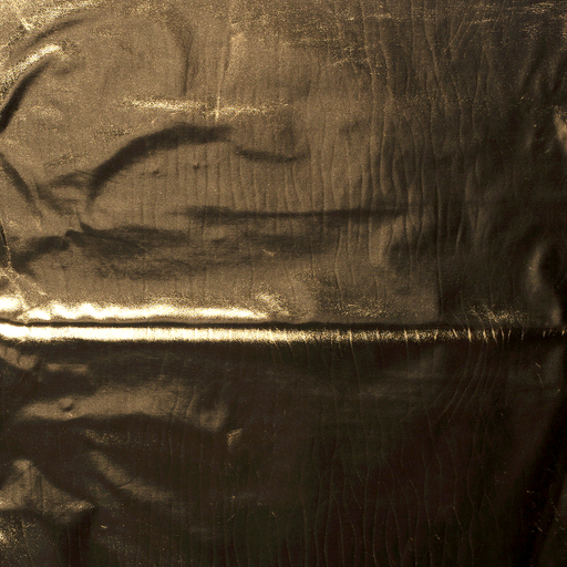 Foil jersey fabric Gold shimmering