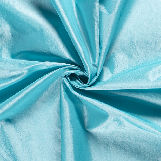 Taffeta fabric Unicolour Aqua